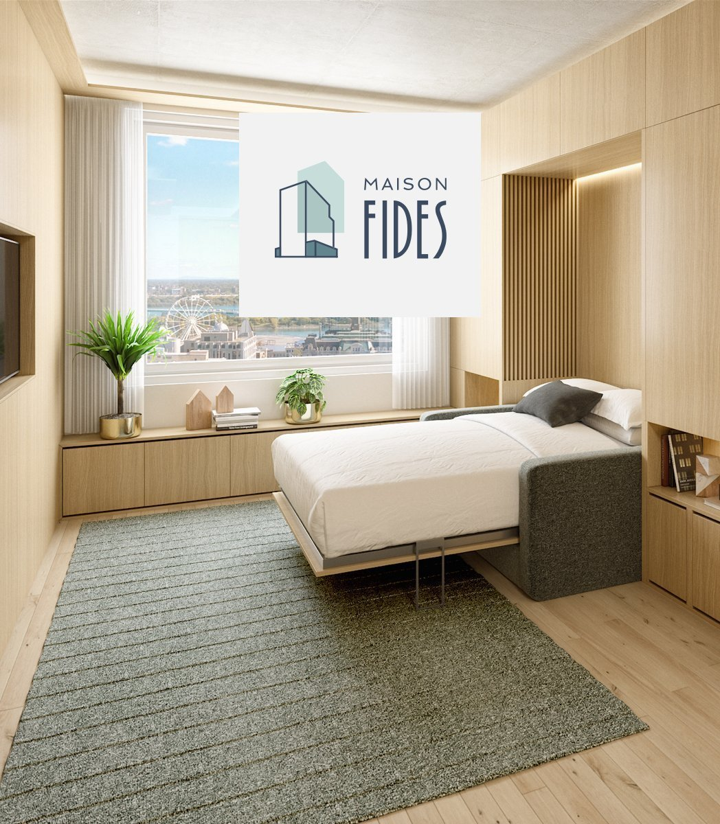 maison fides condo bedroom