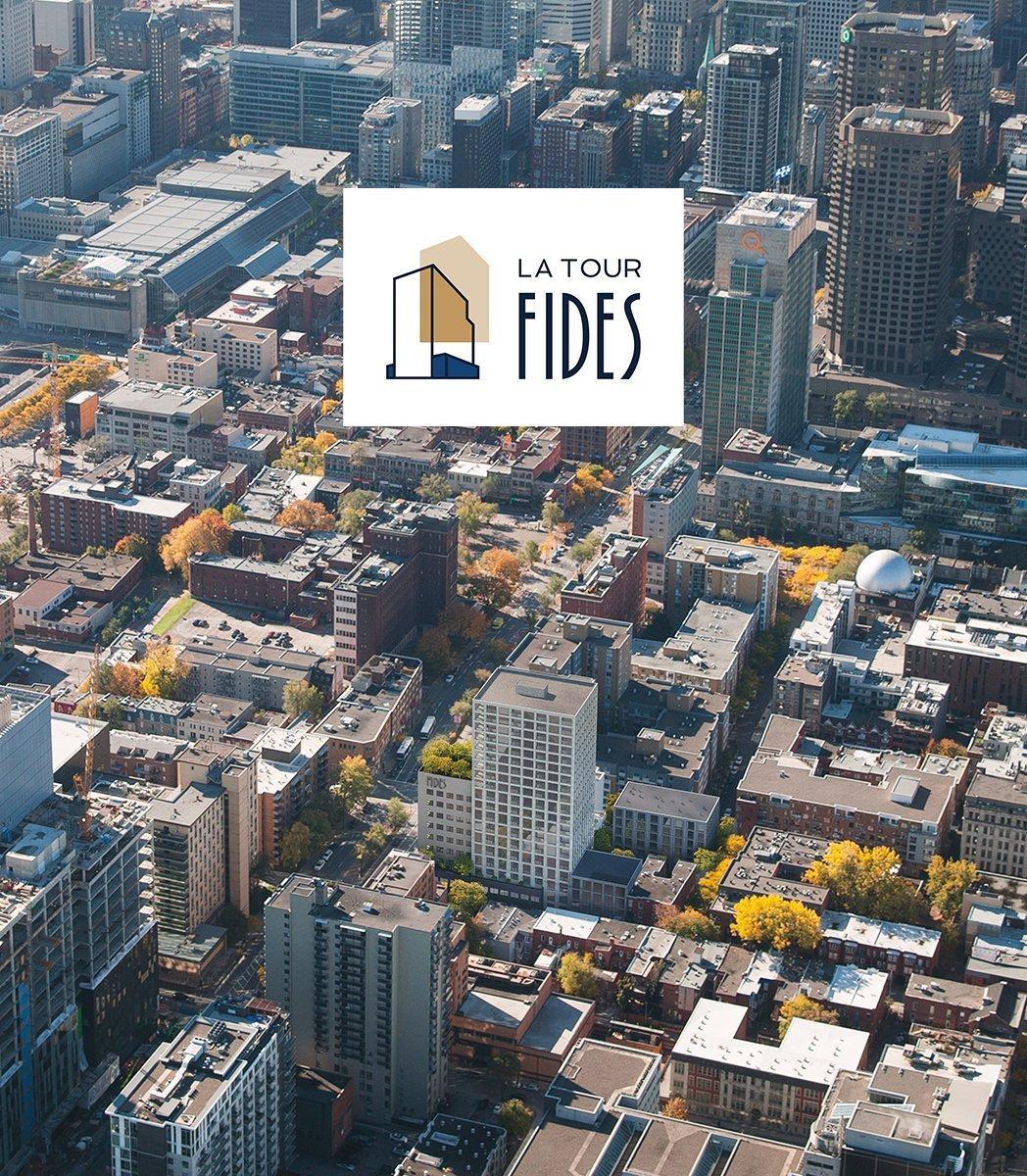 La Tour Fides Aerial View